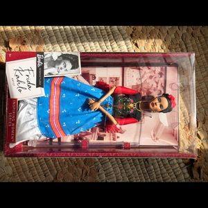 Frida Kahlo Signature Barbie Doll Inspiring Women